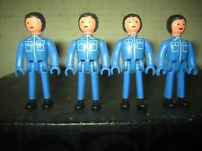 "4 RARE HTF VINTAGE COLLECTABLE MAJORETTE MAJOKIT FIGURES "" SOLD AS IS """