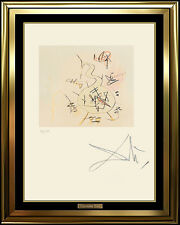 Salvador Dali Original Etching Faust Phiole Authentic Surreal Artwork SIGNED SBO