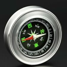 Mini Portable 304 stainless steel Camping Compass Hiking Hiker Navigation-96101