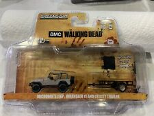 Greenlight The Walking Dead Michonne's Jeep Wrangler & Utility Trailer