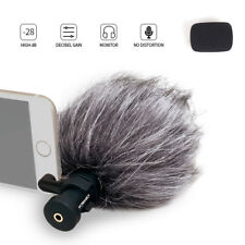 Ulanzi CVM-VS08 Comica Mobile Phone Microphone Video Rotated For iPhone Samsung