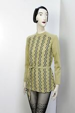 antik Pullover Strickpullover Minikleid True Vintage 70er NOS ungetragen OvP