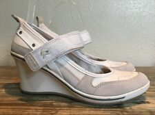 Geox Respira Nude Wedge Strappy Size 38 / US 8