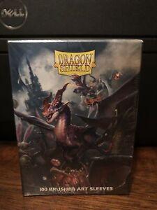 Dragon Shield Brushed Art Sleeves HALLOWEEN Dragon 2021 Pack of 100 Sleeves