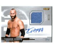 WWE Tommaso Ciampa 2017 Topps Undisputed Silver Autograph Relic Card SN 7 of 50