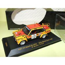 FIAT 131 N°12 RALLYE MONTE CARLO 1980 MOUTON IXO RAC071 1:43 7ème