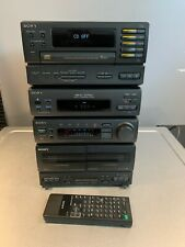 Sony MHC-3750 VINTAGE Audio Shelf System CD Player, EQ, Tape deck AM/FM receiver