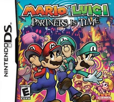 Mario&Luigi:Partners in Time Version GAME ONLY TEST GOOD WORKING(Nintendo DS)