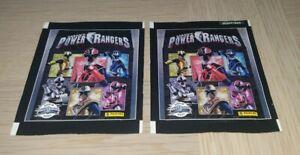 PANINI POWER RANGERS STICKER PACKETS 2x SEALED PACKS