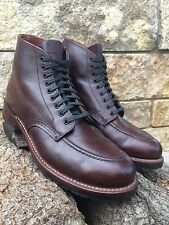 "Rare! Red Wing Heritage 6"" Embossed Beckman Boots Cigar Size 10.5D"