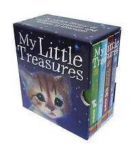 NEW pocket library 4 x board books MY LITTLE TREASURES Holly Webb PUPPY KITTEN
