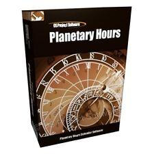 AN Astrology Software - Planetary Hours Calendar PC CD