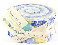 SUMMER BREEZE JELLY ROLL - Moda Fabric Jelly Rolls Prints from Collection 1 & 2!
