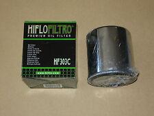 Ölfilter Hiflo Honda VT 600, VT 750, VT 1100, VTR 1000 chrom *NEU*