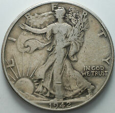 1942  USA   Half dollar   Liberty