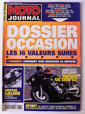 N°1460 MOTO JOURNAL; Dossier Occasion, les 16 valeurs sures/ Suzuki GS 1200 SS