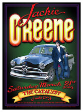 AWESOME MINT 2009 JACKIE GREENE SANTA CRUZ, CA CONCERT POSTER RANDY TUTEN DESIGN