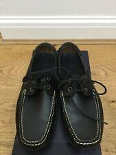 Ralph Lauren Men's Leather Lace Up Boat Shoes Size 9