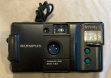 Olympus Infinity S 35mm Point Shoot Film Camera 35mm Lens ^Cleaned & Tested