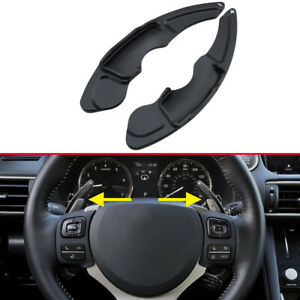 For Lexus NX/IS/RC Black Car Steering Wheel Gear Shift Paddle Shifter Extension