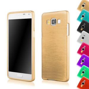 Samsung Galaxy A5 A500 Silikon Schutzhülle Case Cover Tasche Hülle Metallic