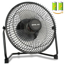 High Velocity Desk/Table Fan Metal Cooling USB Capacity Adjustable Portable Fan