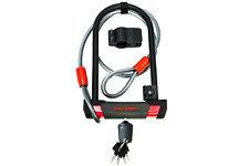 Raleigh Bike U Lock & Cable - 3 Keys