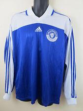 Vtg Adidas 90s Football Shirt Retro Soccer Jersey Maglia Maillot Trikot Mens XL