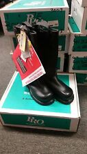 Warrington Pro Leather Turnout Boots, 3009, 5D