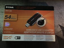Wireless G USB 2.0 Adapter D-Link WUA-1340 802.11g 54 Mbps