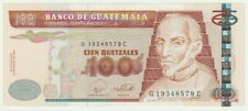Guatemala,100 Quetzales Banknote,24.1.2007,Choice Uncirculated Condition,P#114-B