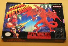 Super Metroid SNES Super Nintendo Entertainment System 1994 Samus Aran