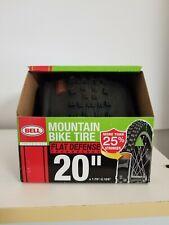 """Bell 20"""" x 1.75-2.125"""" Mountain Bike Tire Flat Defense Technology New"""