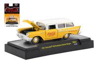 1957 Chevy 150 Handyman Station Wagon Coke Coca Cola M2 Machines 1:64 DIECAST