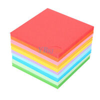 520Pcs/Pack Square Folding Wish Sheets Colorful Double Sided Origami Paper Craft