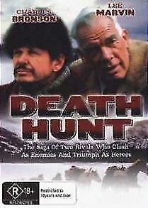 Death Hunt DVD Charles Bronson New and Sealed Australia All Regions