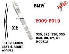 BMW E90 F30 F80 F31 F34 X1 Front Windshield Wiper Blade Set GENUINE 61612241375