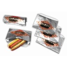 Hot Dog Foil Bag Top Open 1x250pcs, Part #8058SC hotdog steamer, USA MADE NEW!!!