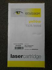 ENVISAGE Yellow CF332A Printer Toner Cartridge HP M651dn M651n M651xh  HP 654A