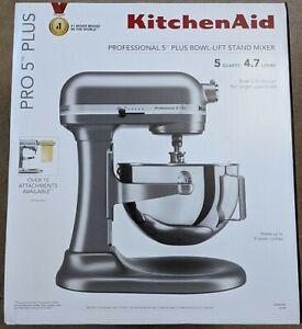 ShipNow New KitchenAid® Pro 5™ Plus 5 Quart Bowl-Lift Stand Mixer - Silver