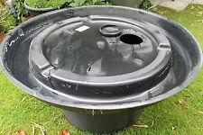 PE Becken 230 L  mit GFK Deckel 125 cm   für Quellsteine Wasserspiele Brunnen