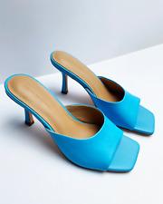 FREYA ESTEPHAN High Heels Leder Sandalen Bottega Veneta 36 37 38 39 40 41 blau