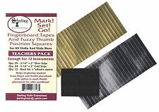 Sterling Mark Set Go Teacher Pack Violin Viola Fingerboard Thumb Markers