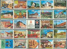 25 alte Gasthaus-Streichholzetiketten aus Deutschland #727