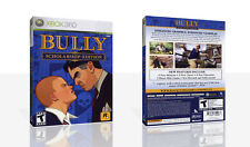 Bully Scholarship Edition Xbox 360 Game Case Box + Cover Art Work (No Game)