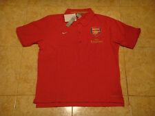 Arsenal Soccer Polo Shirt Nike England Gunners Football Leisure Trikot NEW  L