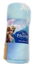 """disney frozen """"graceful & gorgeous soft fleece blanket sisters"""