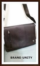 Oroton Metro Large Companion Satchel Cross over the body Hand Bag BNWT Brown