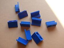 Lego 10 panneaux bleus set 6331 8214 5976 4553 / 10 blue panel