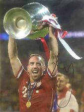 Frank ribery signé bayern munich ligue des champions winners énorme photo